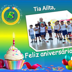 Feliz Aniversário, tia Ailta!