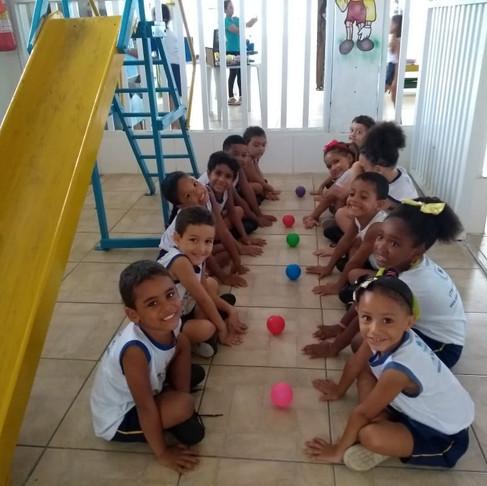 O dia no Colégio Brasil
