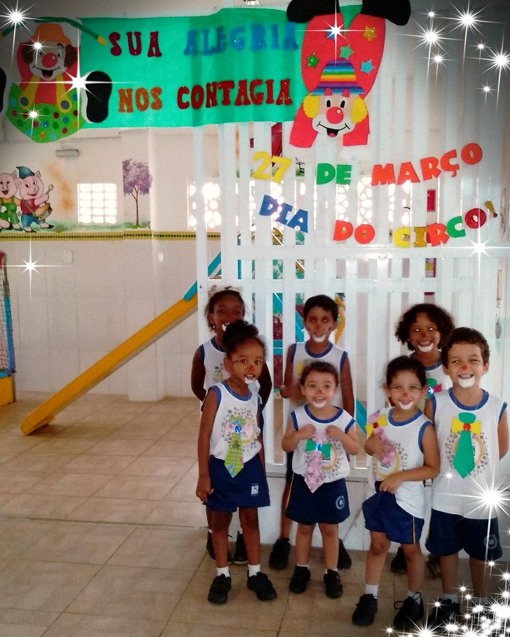 Comemoramos hoje o dia do circo, onde a educação e a alegria se encontram.