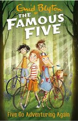 The Famous five- Five go Adventure again