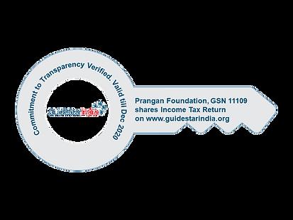 Prangan GuideStar India Transparency Key