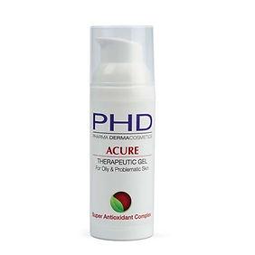 Acure Therapeutic Gel   קרם פנים לטיפול בפצעונים לבני נוער