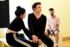 Rehearsals for The Milkman's On His Way