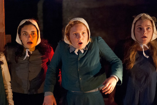 Production image from The Crucible