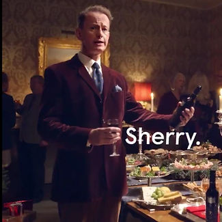 Richard Stirling Tesco Christmas advert