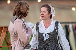 As Nelly Dean in Wuthering Heights