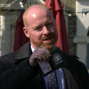 Andy McLeod makes Eastenders debut