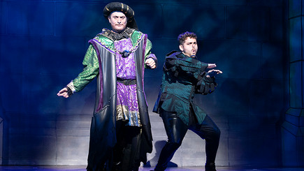 As  the Sheriff of Nottingham in Robin Hood at CAST, Doncaster