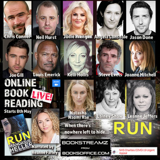 Following the success of 'Broke', Lainey joined Jodie Prenger, Steve Evets and Leanne Jeffer in the cast of 'Run'