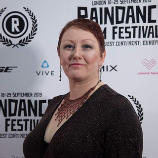 Lainey Shaw at Raindance with My Day feature film