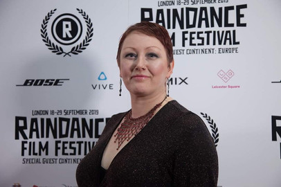 At Raindance Film Festival with feature film 'My Day'