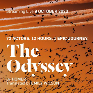 Elliot Pritchard in Live Odyssey for Jermyn Street Theatre on 9th October