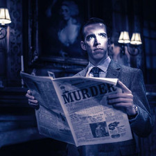 Giles in The Mousetrap UK Tour