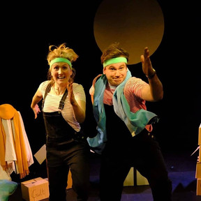 Leonie Spilsbury takes Clown-Hearted to the Vault Festival, February 2020