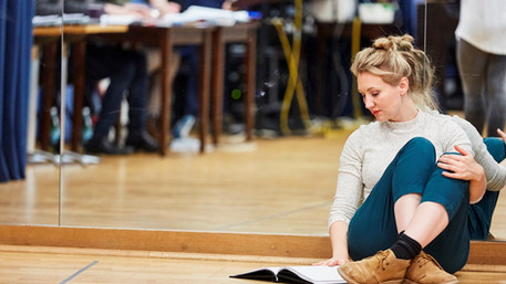 In rehearsals for Sleeping Beauty at Watford Palace