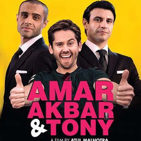 Oliver Messenger in Amar Akbar & Tony, now on Neflix and Amazon Prime