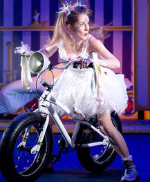 Tink in Peter Pan at Hereford Courtyard