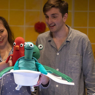 Elliot Pritchard brings The Flying Bath to life online for Little Angel Theatre