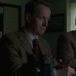 The Crown (Netflix) with Richard Stirling in episode 1 of Series 4