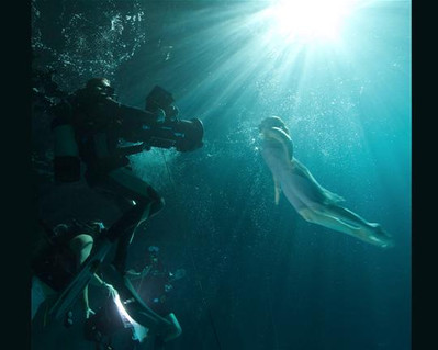 Production image from short film Water Song