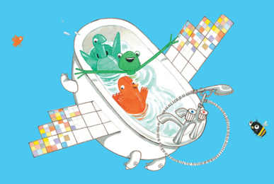 The Flying Bath with Little Angel Theatre