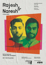 Rajesh and Naresh will be at EdFringe '21, as part of the digital programme at Summerhall.