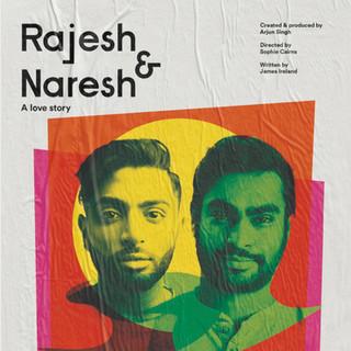 Madhav Vasantha in Rajesh and Naresh at Theatre Deli