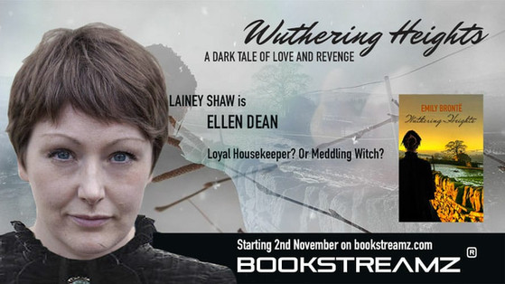 Lainey leads live stream of Wuthering Heights as Ellen Dean