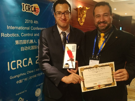 Alunos do mestrado do IFSP apresentam trabalho em Congresso de Robótica na China e são premiados