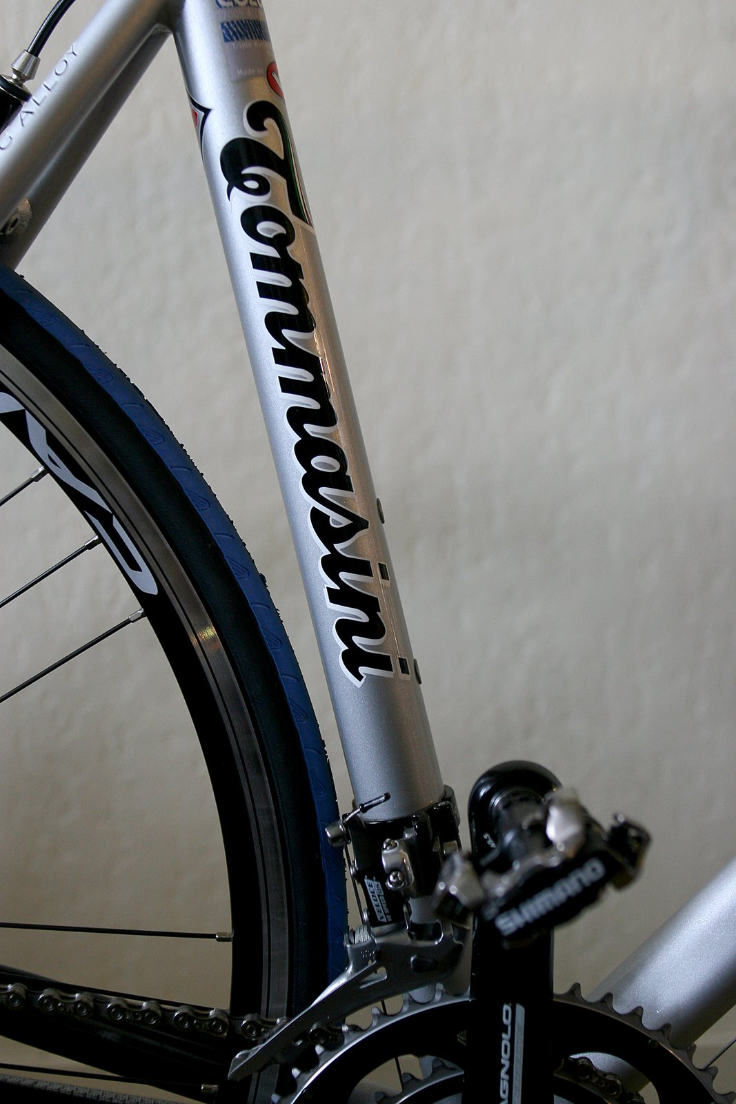 Tommasini detail of seat tube