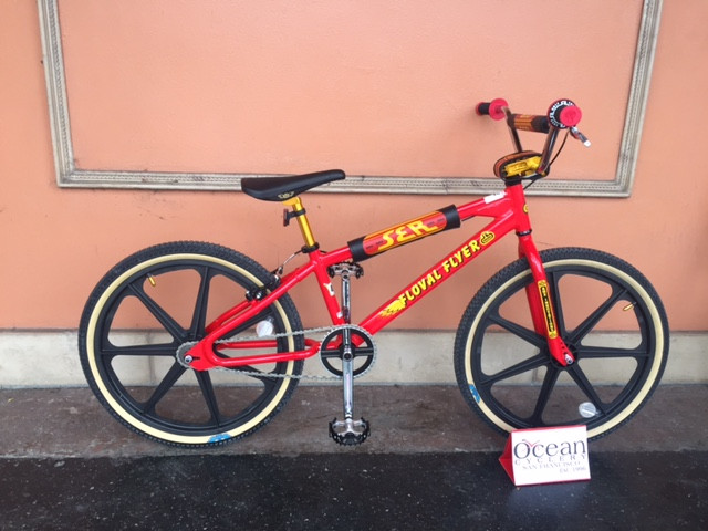 SE Floval Flyer BMX bike at Ocean Cyclery