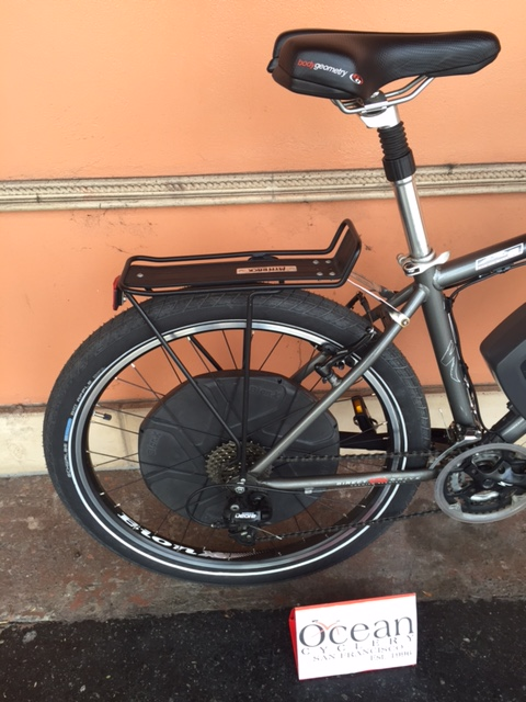 Customer Bike with BionX install