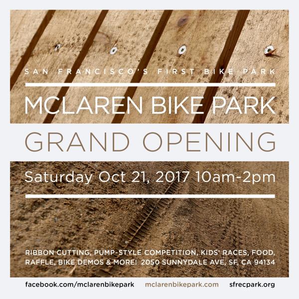 mclaren bike park flyer