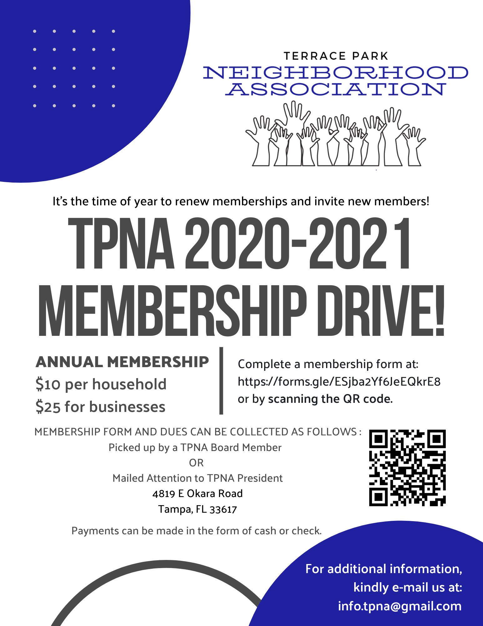 TPNA 2020-2021 Membership Drive Flyer.pn