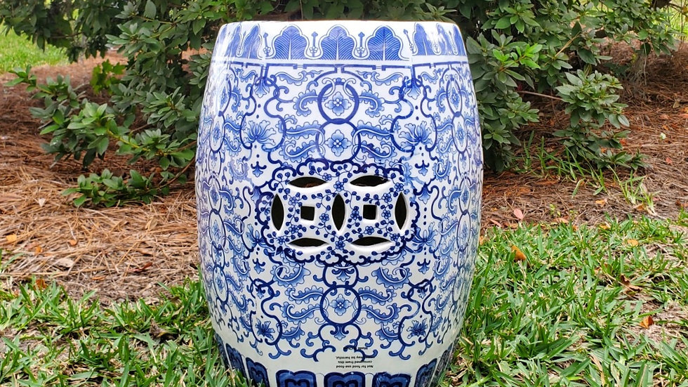 Chinois Garden Stool