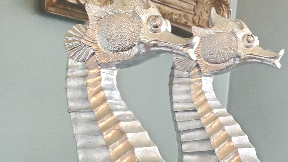 Silver Seahorses