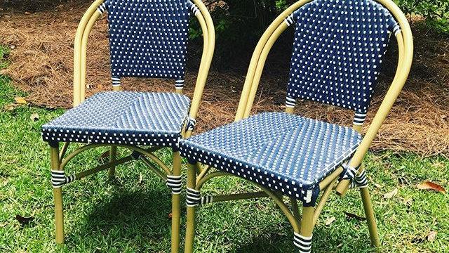 Blue & White - Garden Chairs