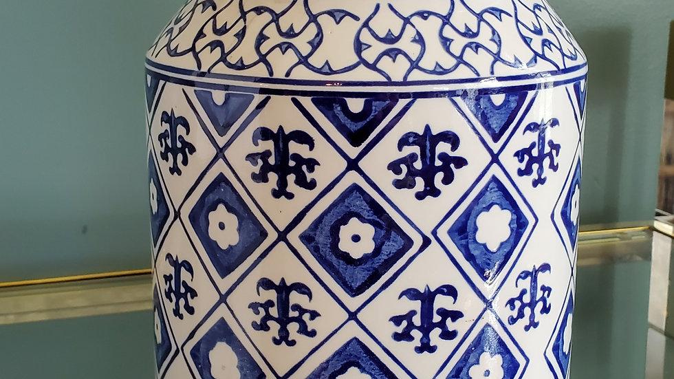Blue & White - Ginger Jar