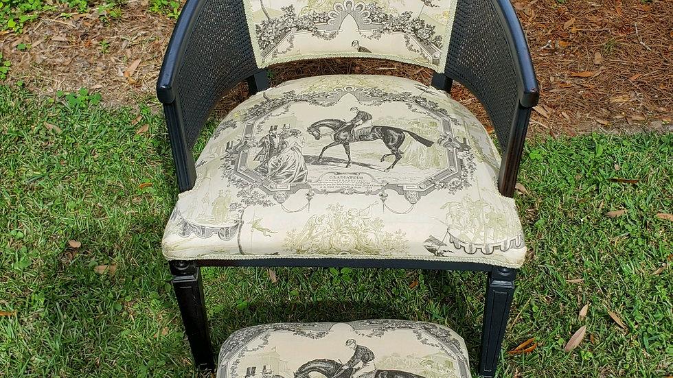 """Gladiateur"" Barrel Chair"