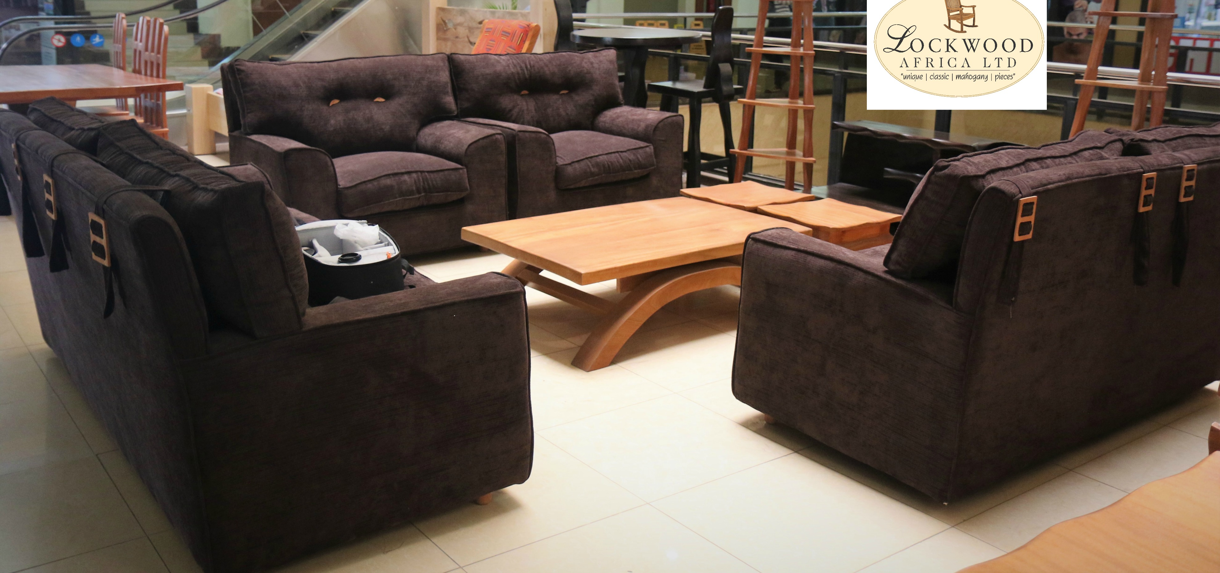 Brown Sofa(7 seater)