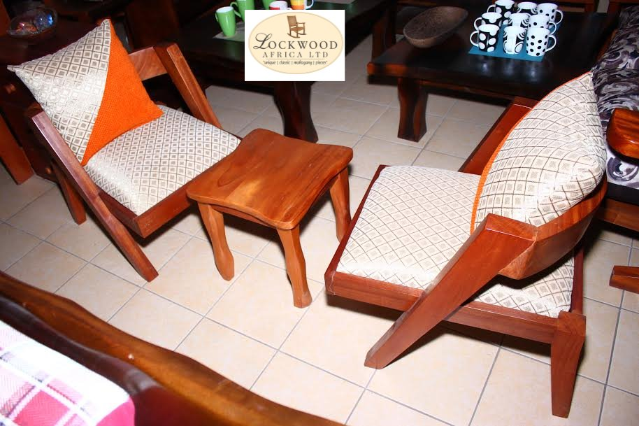 Lounge chair set+Stool