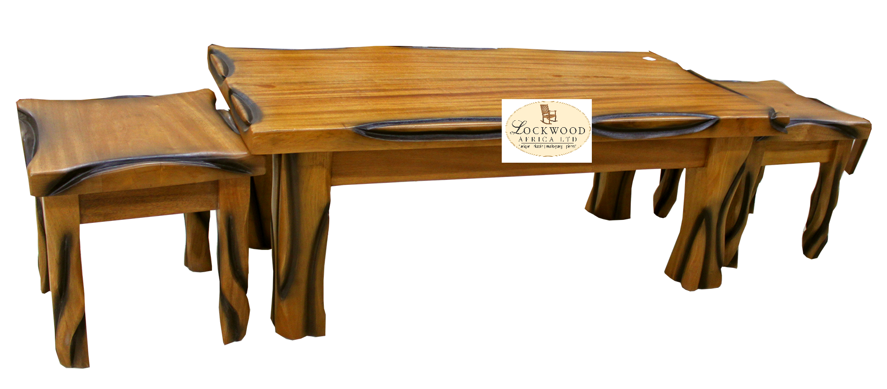 Coffee Table & Stools