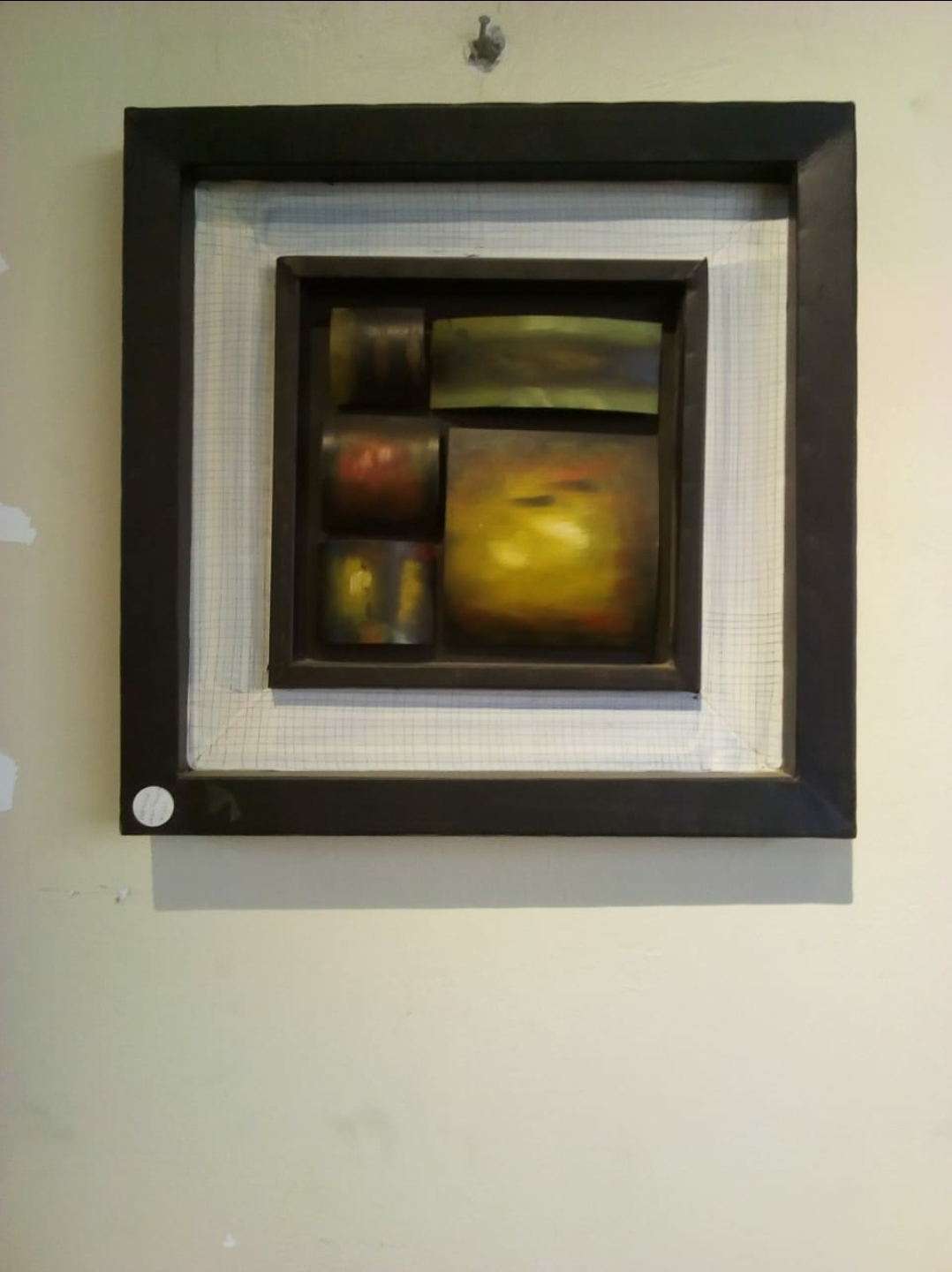 Unique Artwork in Frame