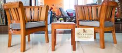Lounge Chair Set+ Stool