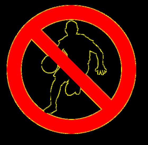 DRIBBLING - NO DANCING OR EXPLORING