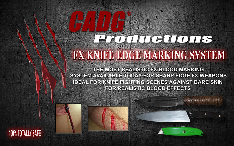 CADG Productions FX knife Edge Marking System