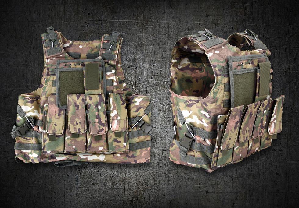 Tatical Vest Multicam