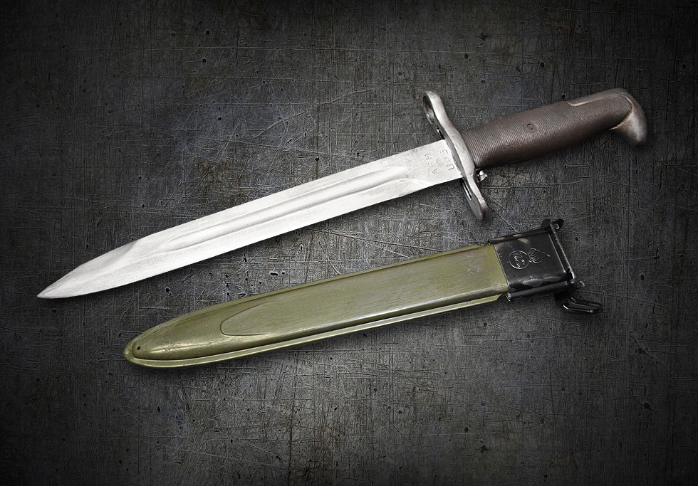 Movie Prop M1 Bayonet Knife Rubber