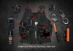 Movie Prop Police Tactical Vest