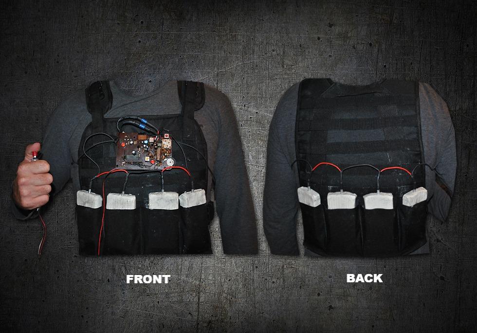 Terrorist Bomb Vest Movie Prop